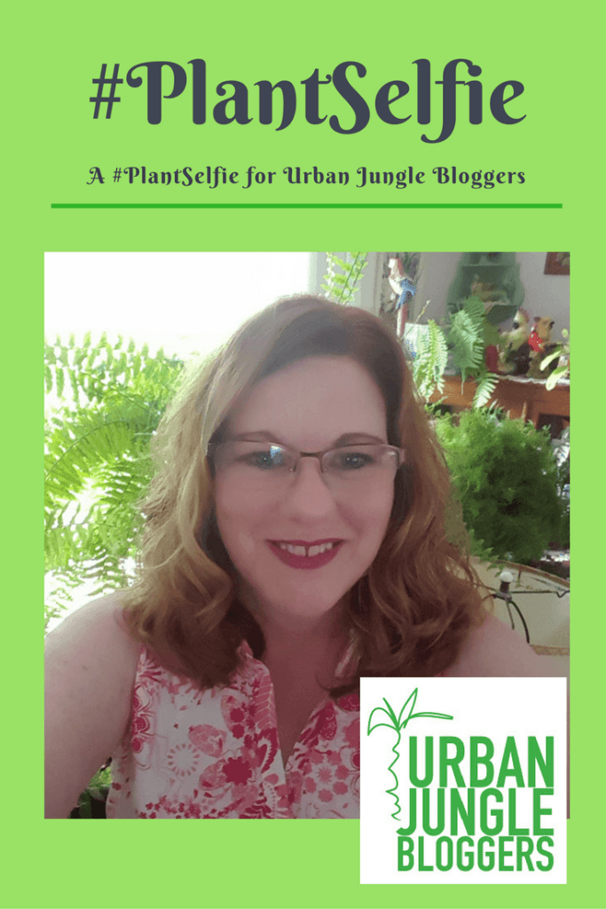 Plant Selfie for Urban Jungle Bloggers