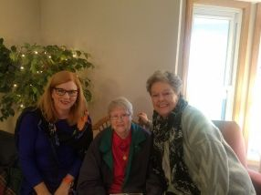 Nancy Szerlag and my mom, Christine Eldred