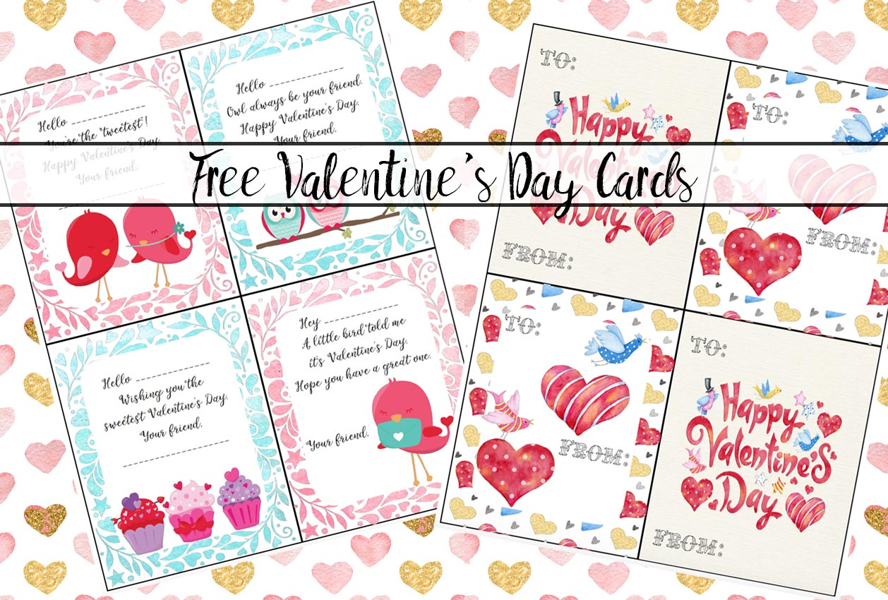 Free Printable Valentine S Day Cards For Kids