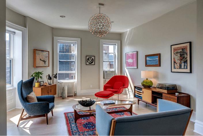 Mid Century Modern Living Room Chairs