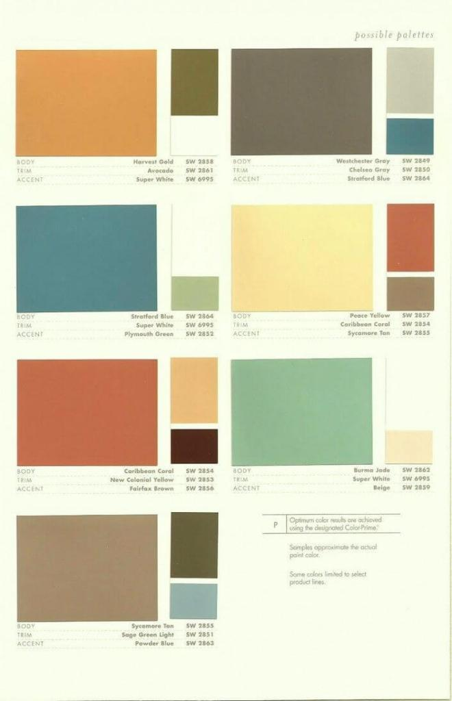 Mid Century Modern Paint Colors For Living Room