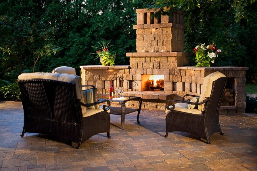 Outdoor Fireplace ideas 3