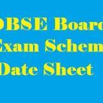 dbse date sheet dbse exam scheme