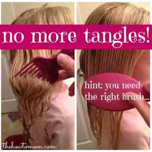 No more tangles, for real.