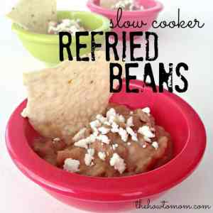 Refried Beans (Slow Cooker)