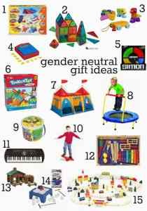 Gender neutral Christmas gifts