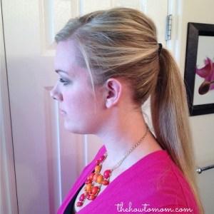 Poofy ponytail tip
