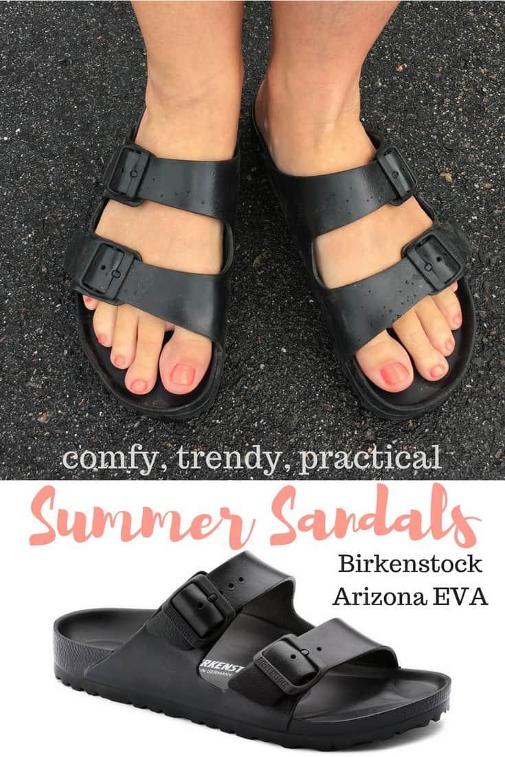 Comfy Summer Sandals - Birkenstock Arizona EVA