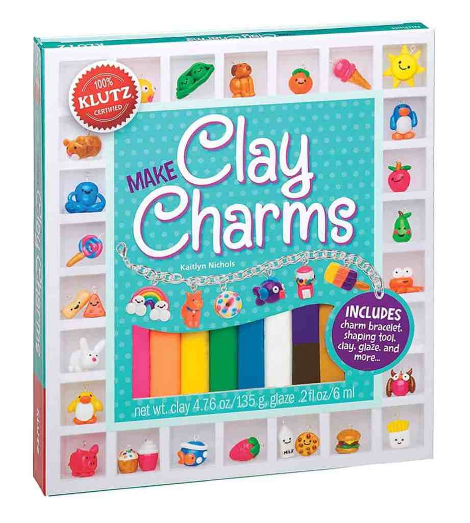 Gift Ideas for Crafty Girls - Clay Charms Kit