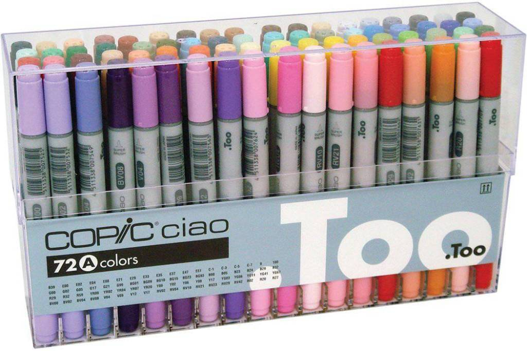 Gift Ideas for Crafty Girls - Copic Markers