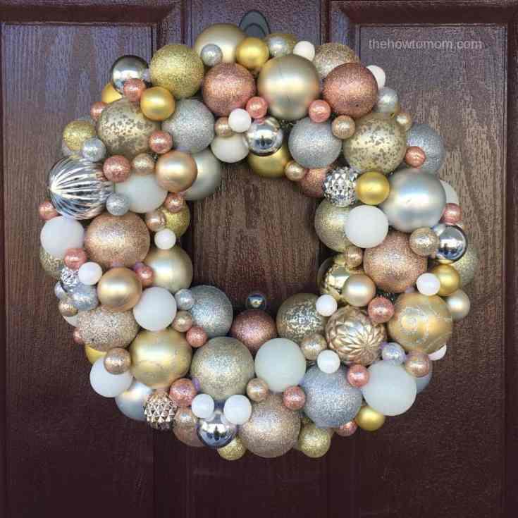 Stunning Ornament Wreath