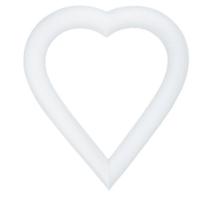 "Extruded Foam Heart - 12"" | Hobby Lobby | 128454"