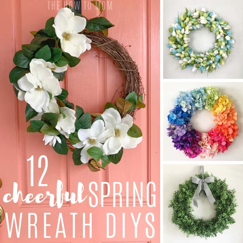 Cheerful Spring Wreath DIYs