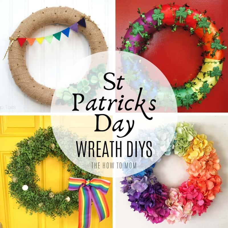 St Patricks Day Wreath DIYs