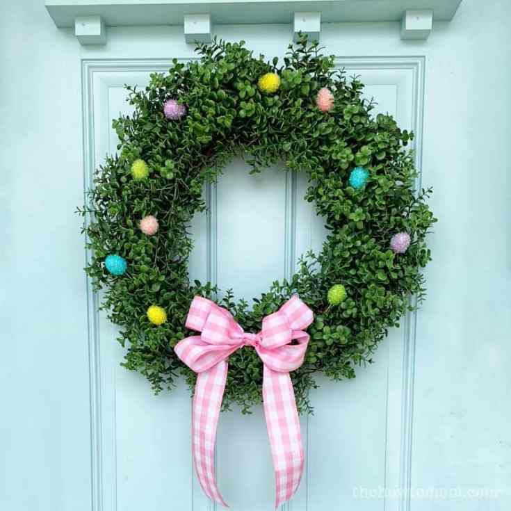 Sweet and Simple Easter Wreath