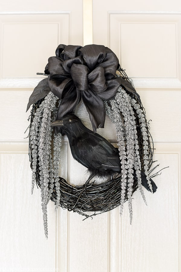 Black Crow Wreath