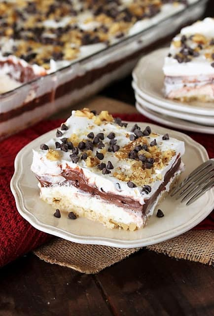 Chocolate Lush Dessert Recipe