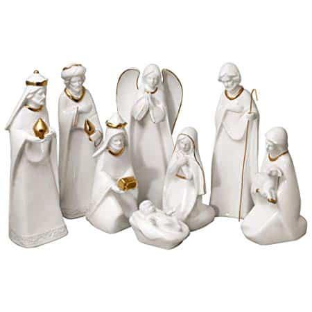 Mikasa nativity set - 8 pc