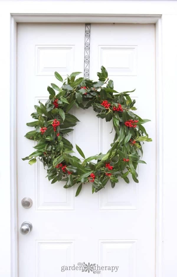 Fresh Holly Wreath