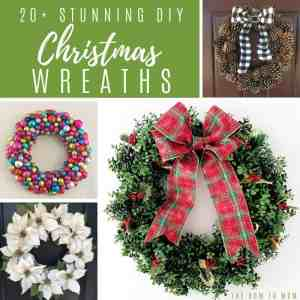 Stunning DIY Christmas Wreath Ideas