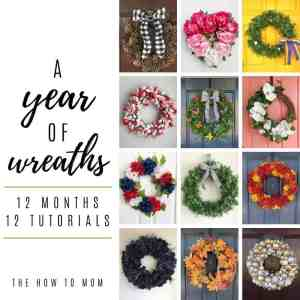 A Year of DIY Wreaths