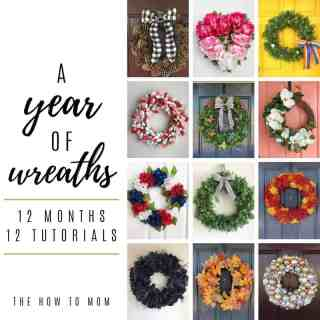 12 wreaths for each month of the year