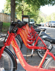 CHRISTIE SHELY/THE HOYA After facing opposition from the National Park Service, Capital Bikeshare received permission to begin planning rental stations on the Nation Mall this month.
