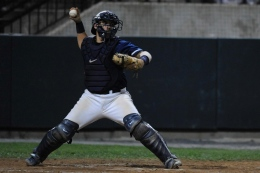 COURTESY GEORGETOWN SPORTS INFORMATION Senior Erick Fernandez chose not to sign with the Washington Nationals this summer.