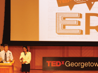 "FILE PHOTO: AMY LEE/THE HOYA The theme of TEDx Georgetown's second annual conference, held in Sept. 2012, was ""Power 2020."""