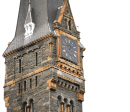 Healy's famed clock hands were noticeably absent after their April 30 theft.