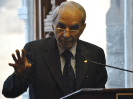 Italian Ambassador Giulio Terzi di Sant'Agata spoke at an Italian unification celebration Friday.