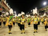 RIO.COM A samba class performs in Rio de Janeiro.