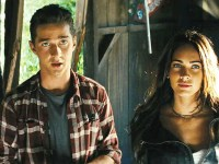 "TRANSFORMERS2.NET  Sam and Mikaela (Shia LaBeouf and Megan Fox) in ""Transformers: Revenge of the Fallen."""