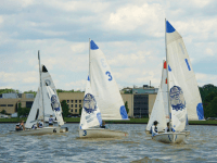 GUHOYAS A Georgetown sailing team, representing the United States, fended off Australia and secured the World University Championships.