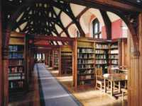 The library at Pembroke College, Cambridge University