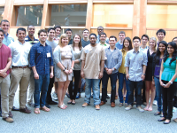 COURTESY STARTUPHOYAS Members of the current Entrepreneurship Fellows Program are able to pursue entrepreneurship through classes and events. Applications for the program are currently open for sophomores.