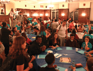 "CHARLIE LOWE/THE HOYA Copley Formal Lounge was filled to capacity Wednesday evening during ""Are You Ready,"" an event aimed at combatting rape culture on campus and promoting awareness of sexual assault."
