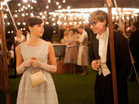 "FOCUSFEATURES  Felicity Jones and Eddie Redmayne play Jane and Stephen Hawking in the new movie ""The Theory of Everything."" Redmayne spoke in an interview of the couple's complex relationship and how the two changed over time in response to Stephen's growing illness and career."