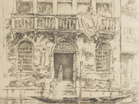 COURTESY FREER SACKLER 19th century Venice is brought to life in the artistic works of James McNeill Whistler. Applying a complex variety of patterns and strokes, his original prints reveal a city of days gone by whose haunting beauty is found in the everyday activities of its citizens.