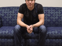 "MICHELLE XU/THE HOYA Yatpang Cheung (MSB '17) spent over 200 hours coding his new app ""Blurtalk."""
