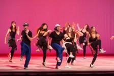 MICHELLE XU/THE HOYA Students performed Desi Beat, a hip-hop influenced dance.
