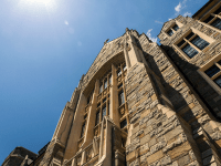 FILE PHOTO: ALEXANDER BROWN/THE HOYA The Office of Undergraduate Admissions, housed in White-Gravenor Hall, accepted 13 percent of early applications for the Class of 2019