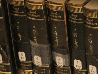 MICHELLE LUBERTO/THE HOYA The Booth Family Center for Special Collections, which will reopen in March, will allow students to get a hands-on look at Georgetown's rare book collection, which features books costing up to $1 million.