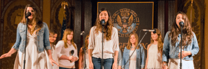 DANIEL SMITH/THE HOYA DANIEL SMITH/THE HOYA The Gracenotes, pictured above, are just one of the many talented a Capella groups on campus. A Capella groups are just some of the impressive and expressive performing arts groups on campus.