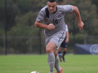 FILE PHOTO: JULIA HENNRIKUS/THE HOYA Senior forward Brandon Allen led the Hoyas with 11 goals in 2014.