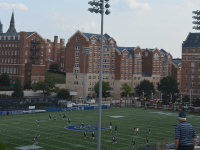 JULIA ANASTOS/THE HOYA Georgetown received its second-largest donation in history Tuesday for the athletics leadership program and Multi-Sport Facility.