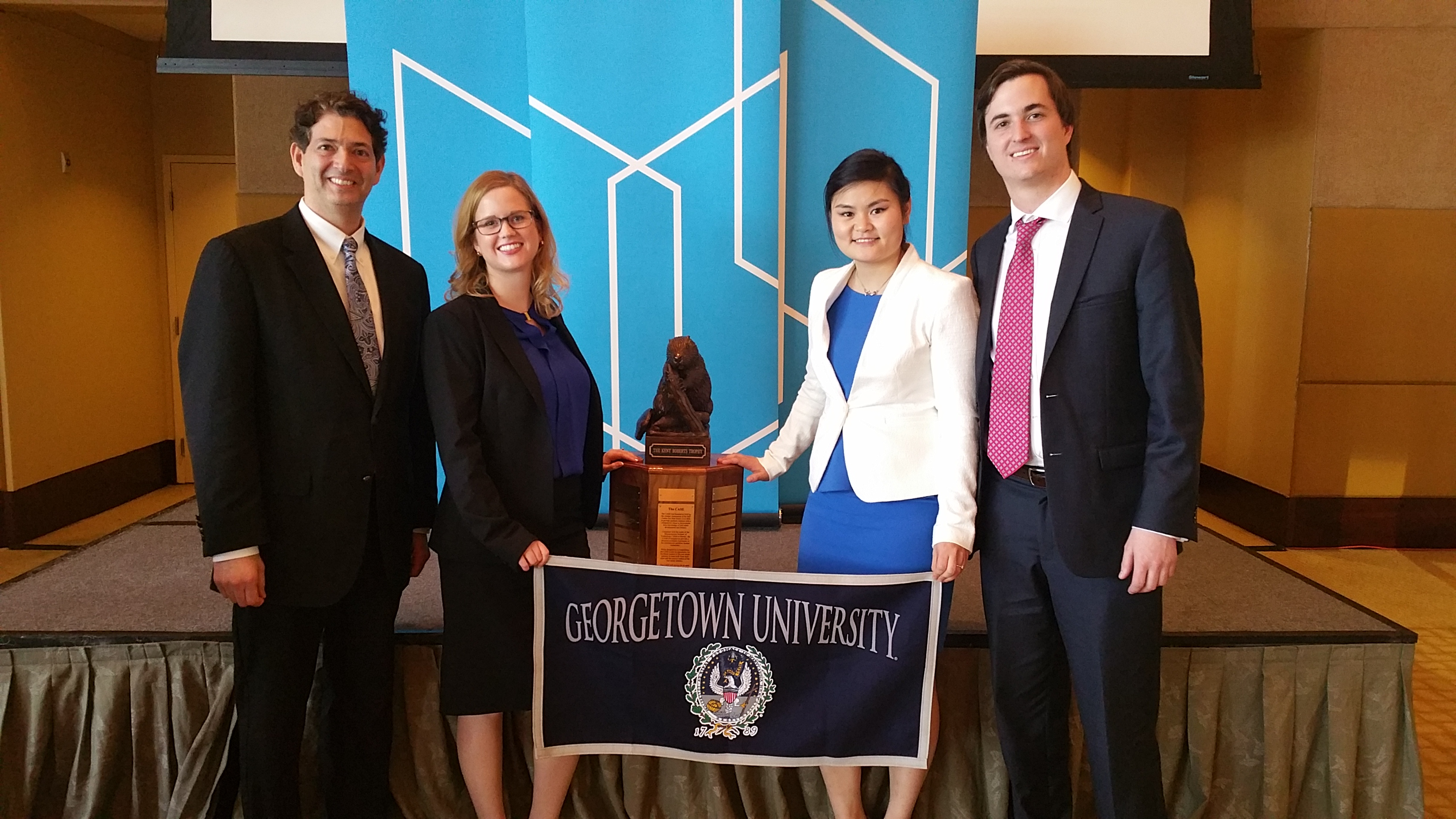 f1b15ed1d39f14 Graduate students from the masters in real estate program at the Georgetown  University School of Continuing Studies