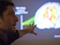 COURTESY GEORGETOWN COLLEGE  Adam Green, a Georgetown psychology professor, conducted a study that found that tDCS to the left frontal lobe can increase creativity in participants.