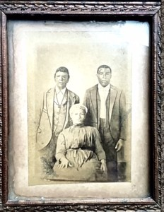 COURTESY PATRICIA BAYONNE JOHNSON Patricia Bayonne Johnson is the great-great-great-granddaughter of Nace and Biby Butler, who were sold by Georgetown to a Louisiana plantation in 1838.
