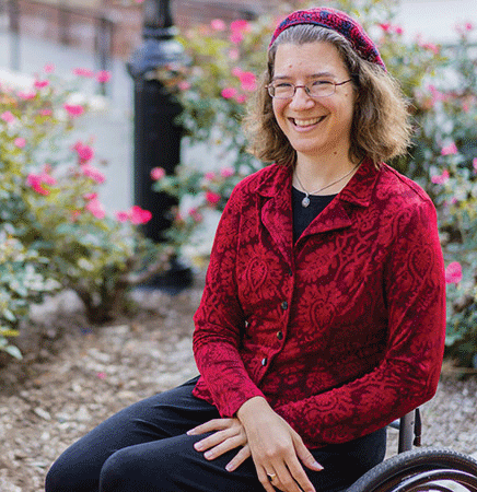 GEORGETOWN UNIVERSITY Professor Julia Watts Belser has helped lead the creation of a disability studies course cluster.